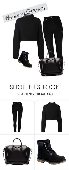 """Isla ~ Weekend Getaway"" by mia-narwhal on Polyvore featuring River Island, DKNY, Givenchy, Timberland, weekend and getaway"