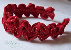 How to Make a Ruffled Ric Rac Headband