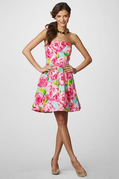 "LOVE. THIS. DRESS. favorite Lilly dress of all time. ""small first impressions"" -->print name"