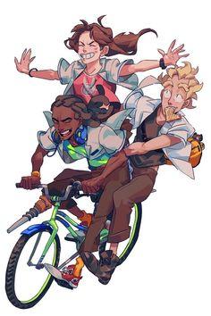Overwatch - Biking #bikememe