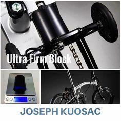 Ultra Firm Rear Shock Block Built for Speed. #JosephKuosac Order link: http://ift.tt/2nzmBUb  #Brompton #BIKEgang #BromptonSociety #BromptonMODs #BromptonLife #MyBrompton #BromptonBicycle #BIKEgangSG
