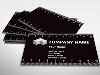 Ruler Business Card