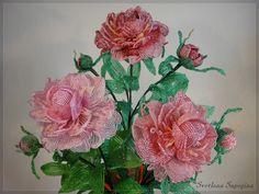 French Beaded Flowers by Svetlana Sapegina