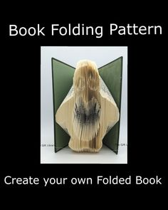 Book Folding Art Pattern  Penguin  Pattern to by TheGiftLibrary