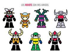 Mazinger Z! ~ ROVOTS by Juan Hodgson, via Behance