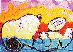 Tom Everhart Snoopy | Uploaded to Pinterest