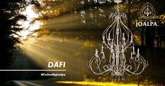 Colección DAFI. No sabemos muy bien quien creó la luz, pero lo que sabemos seguro es quien hace posible que tu casa se ilumine de una forma única, artesanal y llena de vida, porque la luz es vida. #ColorsByJoalpa si puedes soñarla podemos fabricarla
