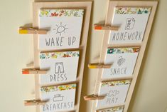 diy daily routine chart for kids 4