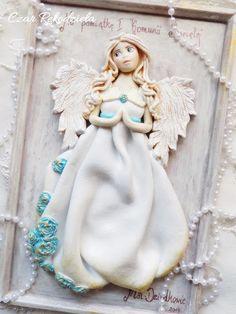Czar Rękodzieła - masa solna, anioły z masy solnej, parki ślubne, upominki z masy solnej : I Komunia Św.-podziękowania