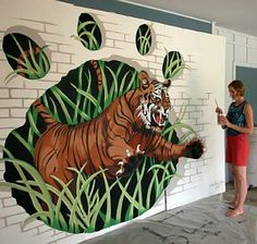 trompe l'oeil mural how to - Good to know