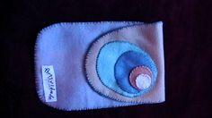Porta óculos em feltro, por Vitti/Artividade