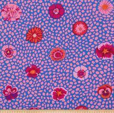 A personal favorite from my Etsy shop https://www.etsy.com/listing/468424490/kaffe-fassett-guinea-flower-pwgp059-pink