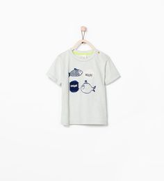 ZARA - COLLECTION SS15 - FISH T-SHIRT