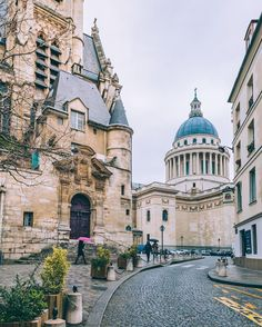 Pantheon, Paris  Find Super Cheap International Flights to Paris, France ✈✈✈ https://thedecisionmoment.com/cheap-flights-to-europe-france-paris/