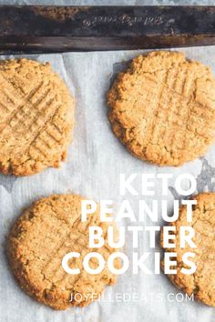 These Flourless Peanut Butter Cookies are made of only 4 simple, healthy ingredients but taste just like the cookies you remember from your childhood. Low-carb, keto and entirely gluten-free, this delicious snack can be whipped up and baked in just under 20 minutes, using only one bowl.