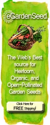 Heirloom, Organic Garden Seeds
