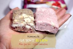 Homemade Quest Protein Bars