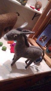 Ochs und Esel für biblische Erzählfiguren filzen