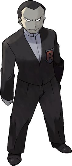 I got Giovanni, the evil mastermind and most bad ass gym leader in Kanto. Cool, but I like Claire more, cause she's a dragon trainer Type Pokemon, Cool Pokemon, Pokemon Team, Pokemon Fire Red, Black Pokemon, Pokemon Cosplay, Kanto Gym Leaders, Equipe Rocket, Sketches