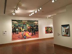 An especially fun piece in the African American art showcase