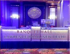 """""""Get in Touch with The Heritage Grand for Best Banquet Hall in West Delhi""""  It's great time to book banquet hall in delhi for your wedding or any other events. The Heritage Grand welcomes you to deal for best banquet hall in west delhi.  You must make a meeting with our professionals to describe your requirements and find a best deal.  Visit http://www.theheritagegrand.com/ for best banquet hall in rajouri garden."""