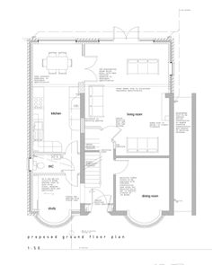 extension ideas for semi detached houses 1930s House Extension, House Extension Plans, House Extension Design, House Design, Extension Ideas, Side Extension, 1930s Semi Detached House, 1930s House Interior, Interior Design