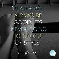 Eve knows best. #pilates #wordstoliveby
