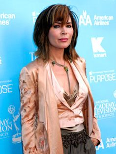 Lauren Koslow~Yes that is Kate from Days of Our Lives and I think she is BEAUTIFUL