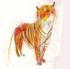 Laura Hughes, tiger sketches                                                                                                                                                      Más