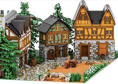 Lego Pics, Lego Pictures, Lego Christmas Train, Lego Station, Lego Village, Best Lego Sets, Lego Display, Lego Army, Amazing Lego Creations