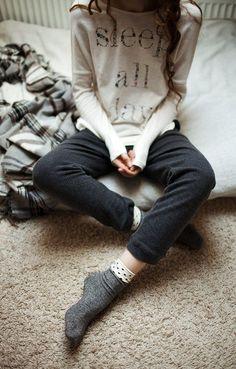 sleep all day //