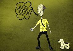 Ilustrações by Leo Ferreira, via Behance