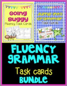 A bundle of task cards about homophones, antonyms, contractions, and fluency. These cards can be used whole group, small group, individual, or as a partner activity. There are printables and answer keys included so it can be set up as a self-checking center.   Common Core Standards: 2.RFS.3., 2.RFS.4 , 2.L.2, R.I.T.2.10, RF.3.3. , RF.3.4.,L.3.2. R.I.T. 3.10  #TaskCards #Fluency paid