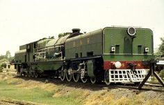 Ahuge and strange one (Bengal Nagpur Railway number 815. A Beyer Garratt built in Manchester)