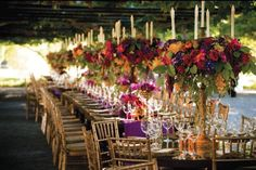 It's almost time for fall weddings! As we trade in our flip-flops and tank tops for boots and cozy sweaters, here are the top five centerpiece trends we're loving for autumn nuptials.