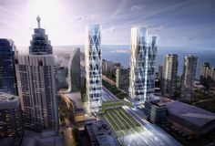 wilkinson eyre selected for toronto transit-hub development - designboom | architecture