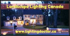 Landscape lighting shouldn't only be pleasing to the eye but also functional. To have both of these benefits, your lighting should be properly placed. Here are some ideas, how to use of proper landscape lighting. #landscapelightingcanada #calgary #canada #lightingdoctor www.lightingdoctor.ca/
