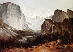 Thomas HillPaintings- A View of Yosemite Valley