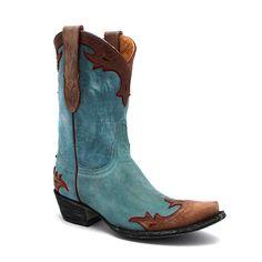"""Old Gringo 10"""" Aqua Villa Boot at Maverick Western Wear"""