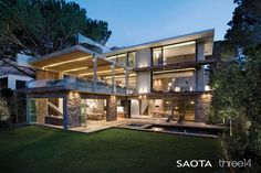 Cape Town home by SAOTA and three14Architects.