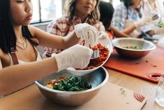 At Seasons Restaurant, we invite you to step inside our kitchen. Join us for a cooking class. Seasons Restaurant, Ahi Poke, Health And Wellness, Health Fitness, Healthy Snacks, Healthy Recipes, Veggie Wraps, Easy Weeknight Dinners, Step Inside
