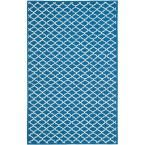 Newport Indigo/Ivory (Blue/Ivory) 8 ft. 6 in. x 11 ft. 6 in. Area Rug