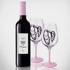 Guardian angel wine glass