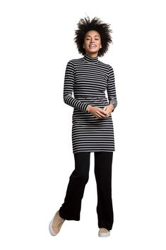 ab781830f90 Boob Design Simone Organic Maternity & Nursing Tunic- Dress (Black/Tofu)