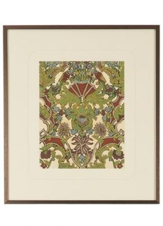 Chelsea House's Antique Adornment-I Wall Art has a Lithograph Print finish. Dimensions: 32 High by 28 Wide. Wall Art, Framed Art, Chelsea House, Bronze, Wall Art Prints, Diy Lamp, Frame, Print Finishes, Prints