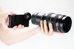 Seus sonhos se realizaram: já da pra usar as lentes da sua câmera no iPhone 4