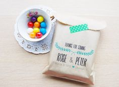 Candy Buffet Bags Wedding Favor Bags Candy Treat Bags Custom Wedding Favor on Etsy, $30.00