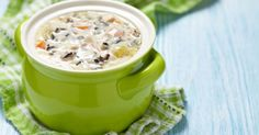 Warm Your Soul With This Creamy Chicken Wild Rice Soup