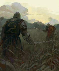 Knights by Grobelski.deviantart.com on @DeviantArt