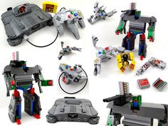 LEGO Nintendo 64 Transformers - Combining 3 of my favorite things growing up.